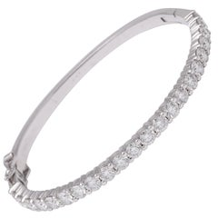Diamond Bangle for 6 inch wrist