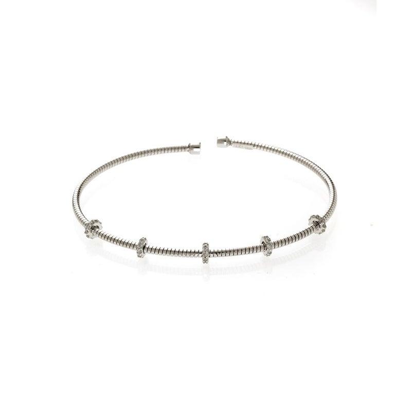 Diamond Bar Bracelet In New Condition For Sale In Houston, TX