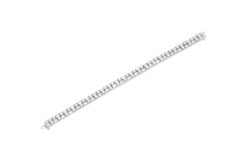 Diamond Bracelet In Good Condition For Sale In New York, NY