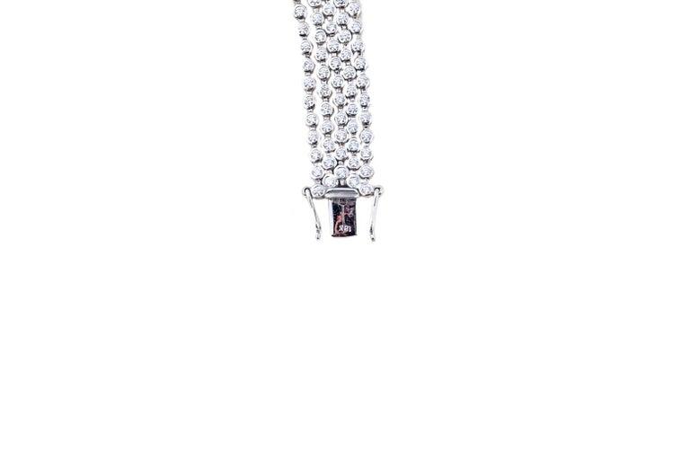 Brilliant Cut Diamond Bracelet For Sale