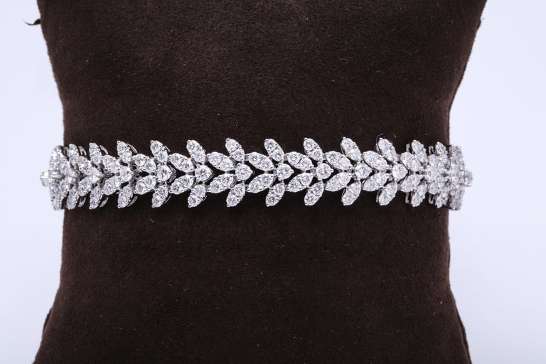 Diamond Bracelet In New Condition For Sale In New York, NY