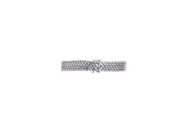 Diamond Bracelet In Excellent Condition For Sale In Bad Kissingen, DE