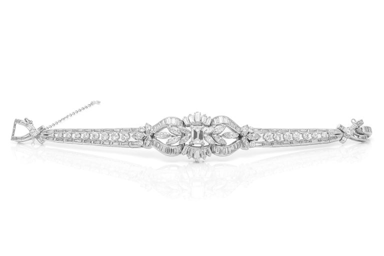 Diamond Bracelet In Good Condition For Sale In New York, NY