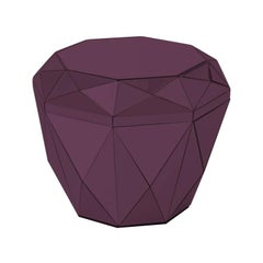 Diamond Burgundy Coffee Table