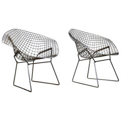 Diamond Chair by Harry Bertoia for Knoll, 1970s