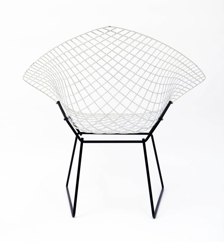 """""""Diamond"""" Chair by Harry Bertoia for Knoll For Sale 6"""
