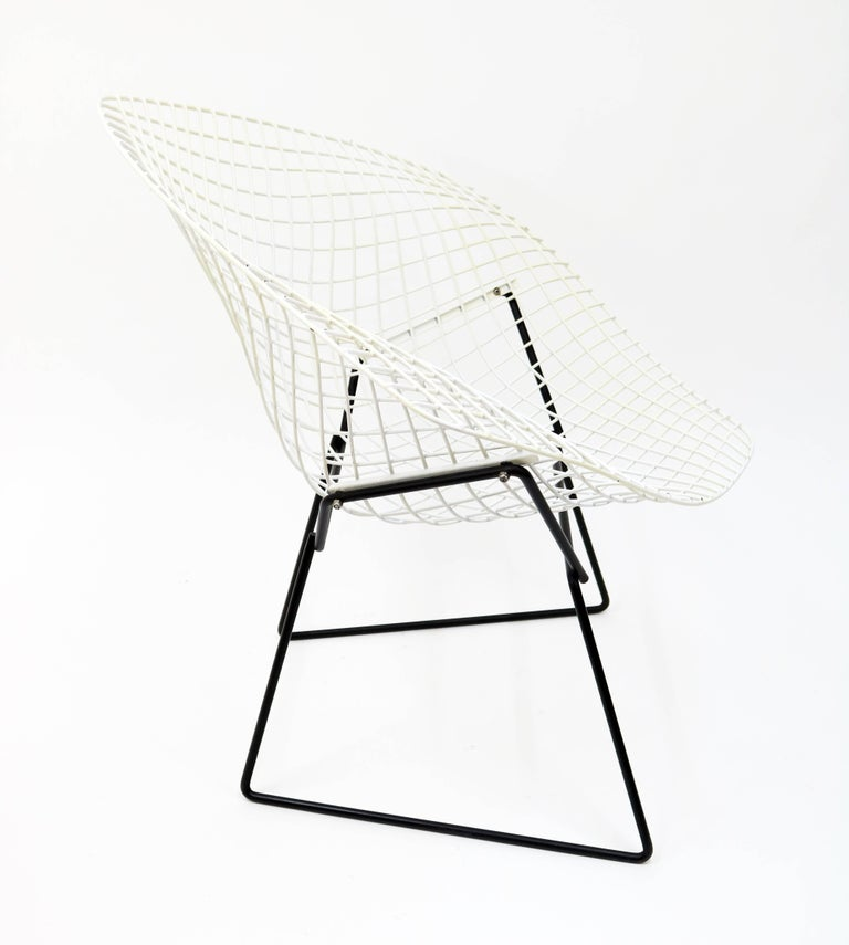"""""""Diamond"""" Chair by Harry Bertoia for Knoll For Sale 3"""