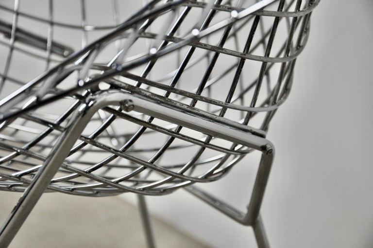 Late 20th Century Diamond Chairs by Harry Bertoia for Knoll, 1980s Set 2