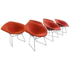 Diamond Chairs by Harry Bertoia for Knoll International
