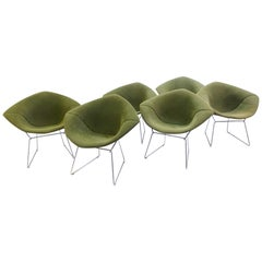 Diamond Chairs by Harry Bertoia for Knoll International