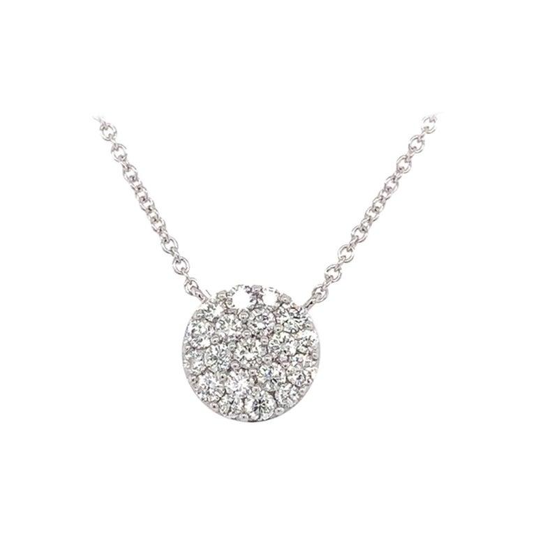 Diamond Cluster/Pavee Pendant
