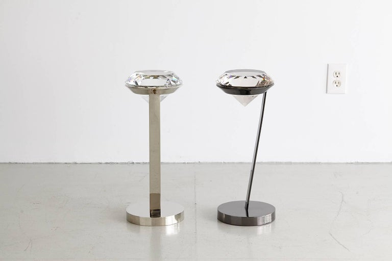 Contemporary Diamond Cocktail Table  For Sale