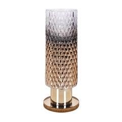 Diamond Collection Gold Big Round Vase
