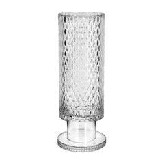 Diamond Collection Transparent Big Round Vase