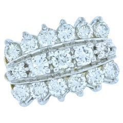 Diamond Contemporary Well Crafted Ring