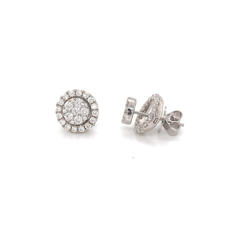 Brilliant Cut Diamond Convertible Stud/Dangle Earrings