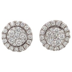 Diamond Convertible Stud/Dangle Earrings
