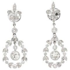 1950s Dangle Earrings