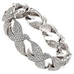 Diamond Dove of Peace Bracelet by Cartier