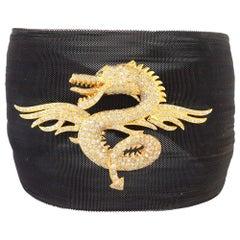Diamond Dragon Mesh Bracelet