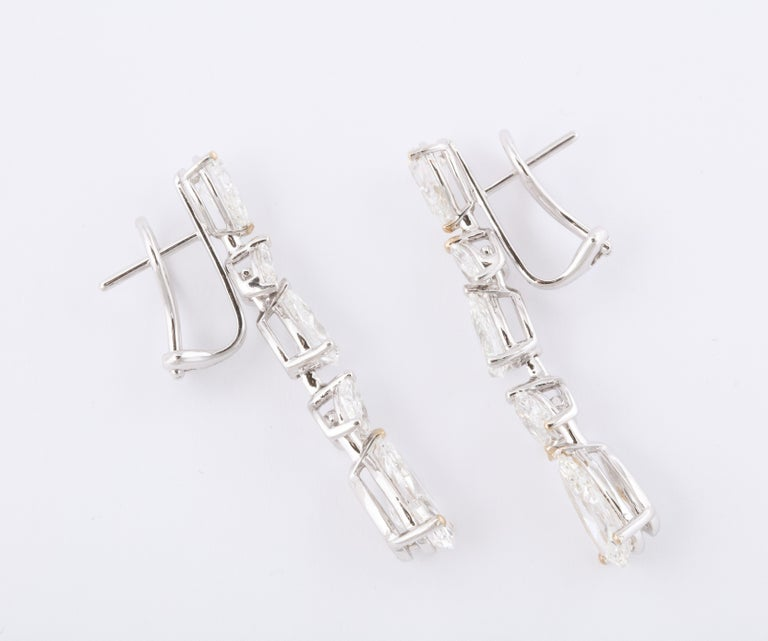 Diamond Drop Earrings For Sale 1