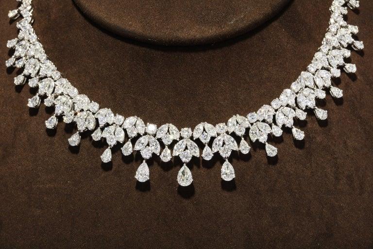 Diamond Drop Necklace For Sale 5