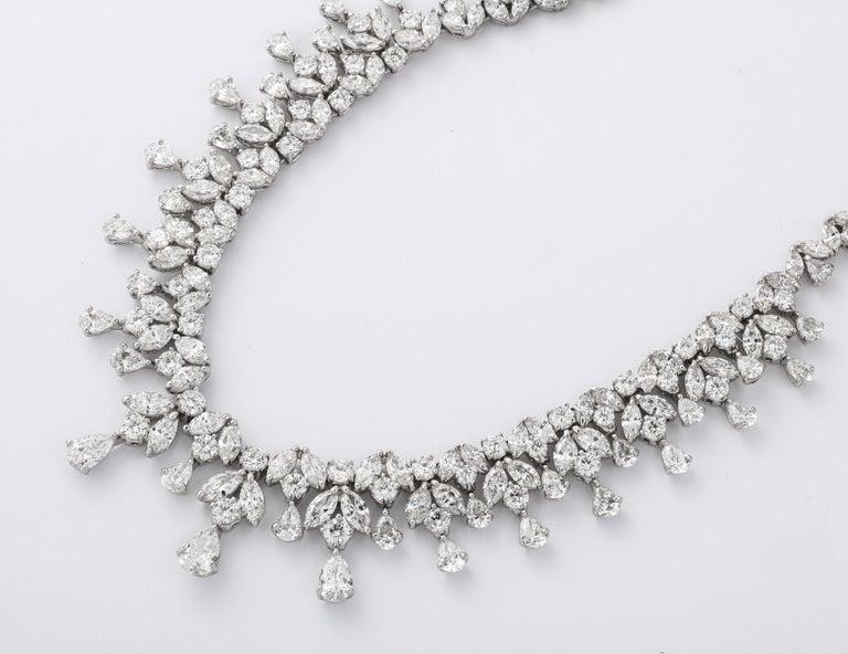 Diamond Drop Necklace For Sale 2