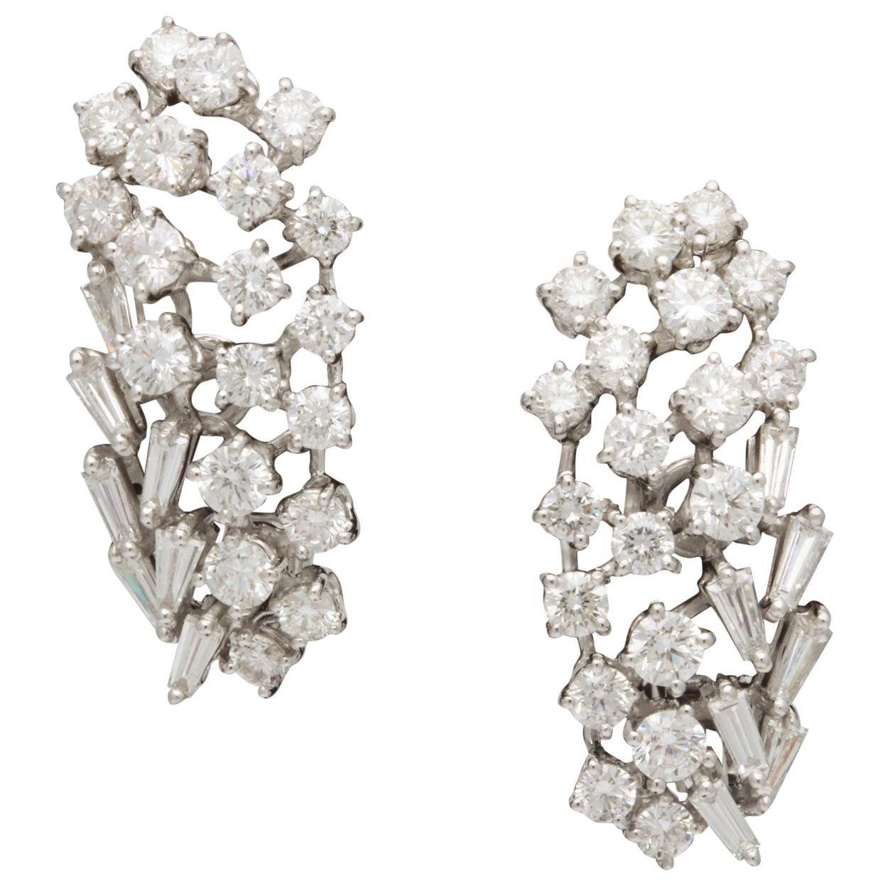 Diamond Earring Clusters