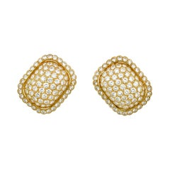 Diamond Earrings by Cartier, 8.50 Carats