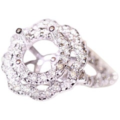Diamond Engagement Ring or Right Hand Ring