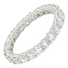 Diamond Eternity Band 2.40 Carats
