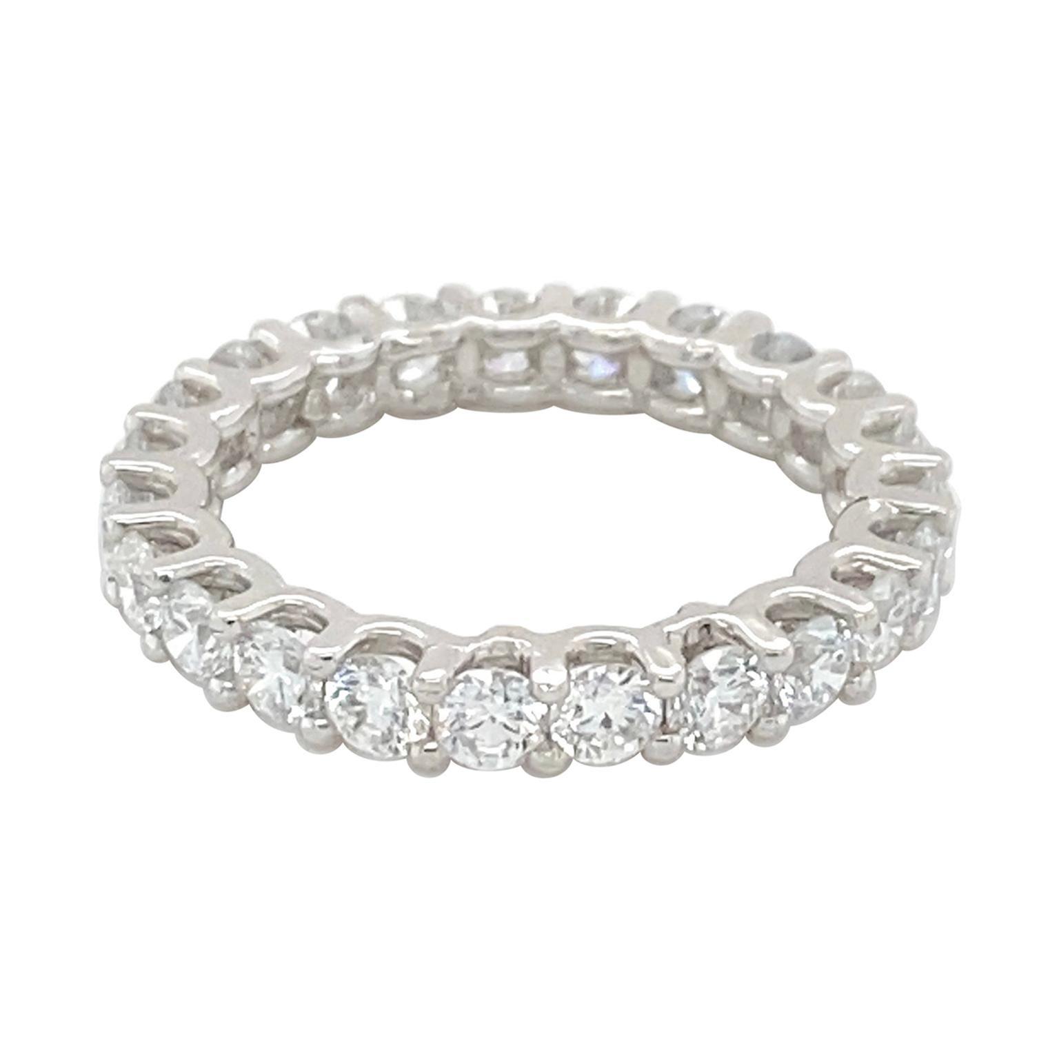 Diamond Eternity Band 2.90 Carats