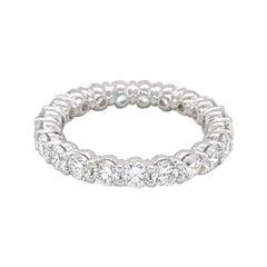 Diamond Eternity Band 3.66 Carats