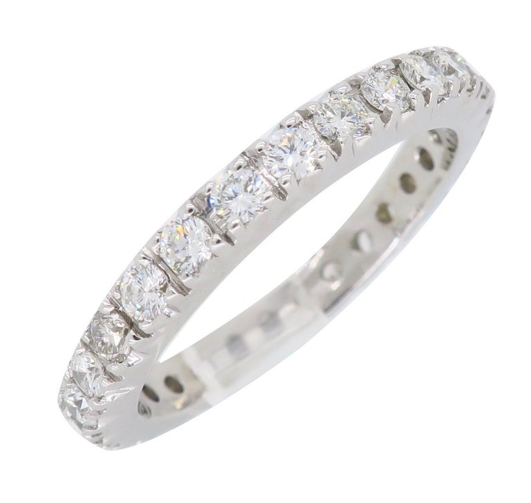 Diamond Eternity Band In New Condition For Sale In Webster, NY
