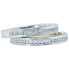 Diamond Eternity Bands with Diamonds on 3 Sides
