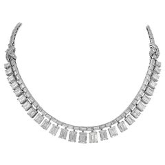 Diamond Fringe Convertible Riviere Necklace