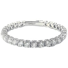 Diamond Full Eternity Band Ring