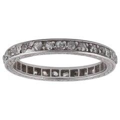 Diamond Full-Hoop Eternity Ring