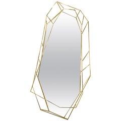 Diamond Ganzkörperspiegel aus Messing von Essential Home