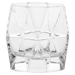 21st Century Karim Rashid Handmade Crystal Transparent Glasses