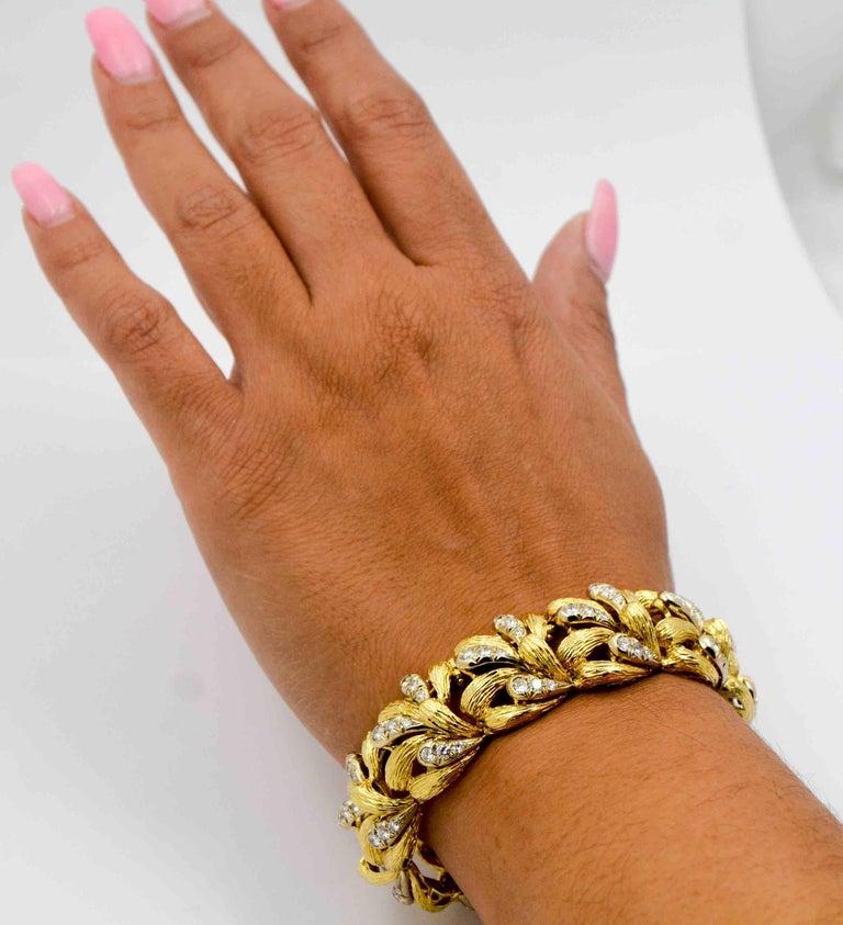 Diamond Gold Bracelet For Sale 3