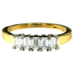 Diamond Gold Five-Stone Ring