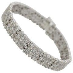 Diamond Gold Shape Bracelet