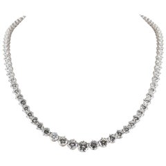 Diamond Graduating Riviera Necklace