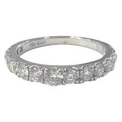 Diamond Half Eternity Band Ring