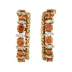 Diamond Hoop Earrings by Van Cleef & Arpels