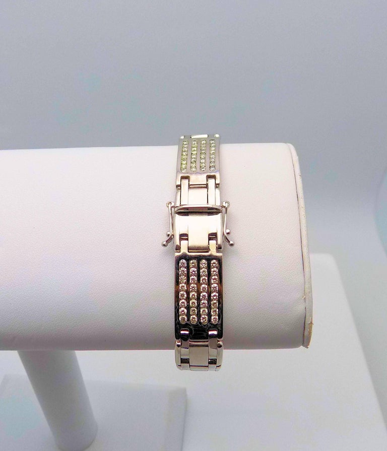 Diamond Line Bracelet For Sale 1
