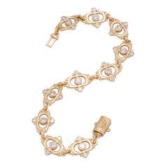 Diamond Link Tabla Bracelet