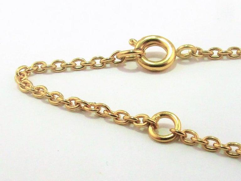Diamond 18ct Yellow Gold Cross Pendant Love Heart Magic DIAMONDS in the SKY 2