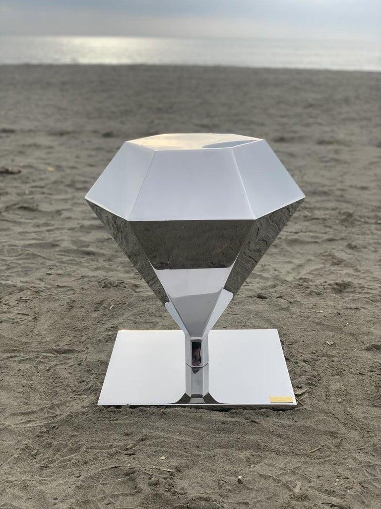 Hand-Carved Diamond
